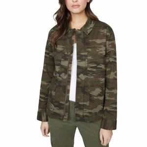 NWT Sanctuary standard supply camouflage jacket
